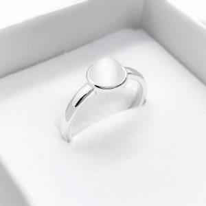 Ezüst Opal gyűrű